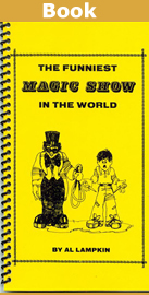 Al Lampkin's Printed Booklet The Funniest Magic Show in The World